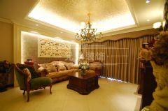 春森彼岸美式风格三居室