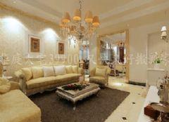 欧式风格中海国际古典风格三居室
