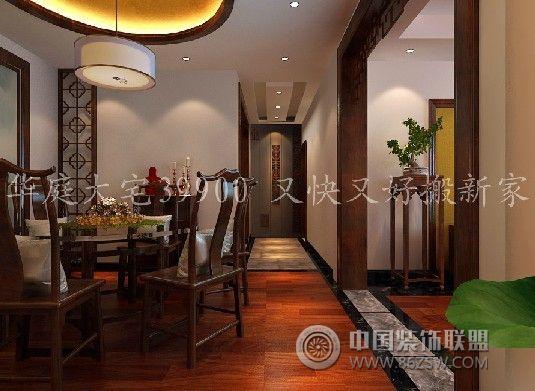 简中式风格中式餐厅装修图片