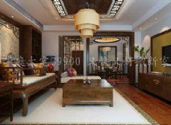 简中式风格中式风格三居室