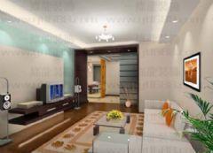 名豪丽城现代风格三居室