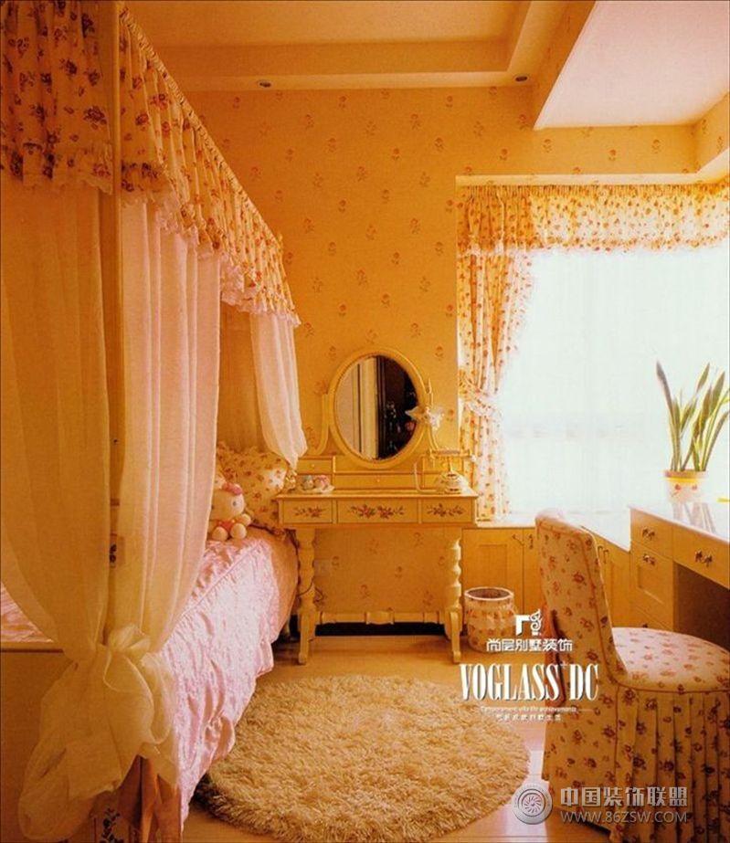 时代尊邸现代儿童房装修图片