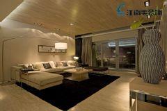 大华南湖公园世家现代风格三居室