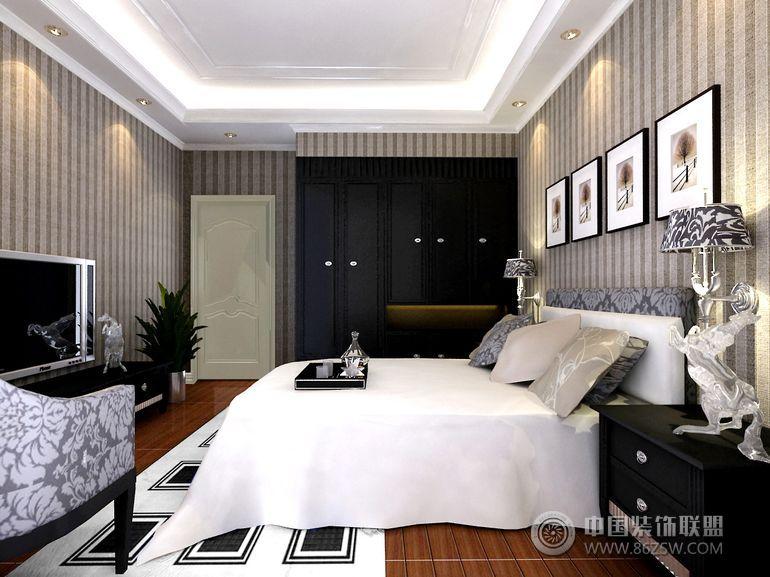 现代简约风格-卧室装修图片