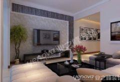 中海东郡现代风格三居室