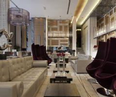 复式楼客厅装修现代风格复式
