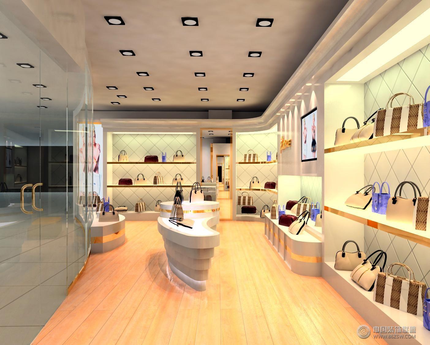 地下购物商场专卖店形象设计整套大图展示_现代小户型