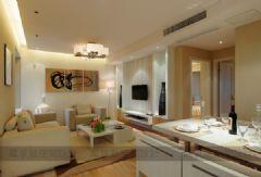瑞景国际现代简约现代简约风格三居室