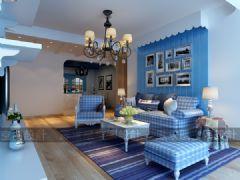 雅居乐地中海风地中海风格三居室