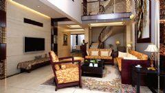 260平米复式家居中式风格复式