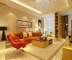 国际城现代风格二居室
