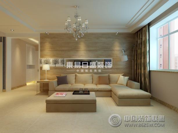 设计理念: 近年来,简约风格装修越来越受人们喜爱,简单又有品位。现代简约风格追求时尚与潮流,简约而不简单。简约风格给人一种优雅的感觉。本案的设计师在通透的空间内使得各实用功能区布局合理,客厅以米黄色色为主色调,以白色为次色调,这样的搭配使得客厅倍感温馨舒适,舒适的沙发拥有现代的亲和力,沙发背景墙才用了木地板做装饰,时尚又显档次。