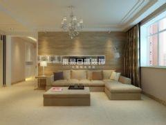 邯郸中央公园简约风格三居室