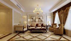 国际城四期温东古典风格四居室