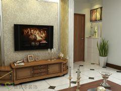 东景苑——罗先生效果图现代风格二居室