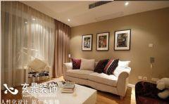 梦园小区现代风格三居室