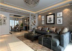 中央国际现代风格三居室