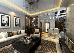 尚溪地现代风格三居室