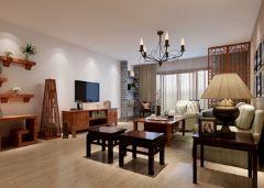 青岛市海岸馨园简约风格三居室