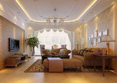 蓝山湾欧式风格三居室