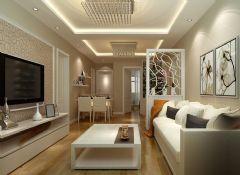 75平现代简约风现代简约风格二居室