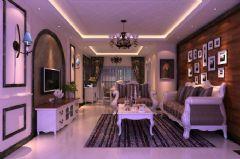 别墅装修案例现代风格三居室