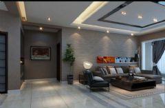 水岸星城现代风格三居室