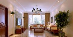 奥山世纪城美式风格三居室