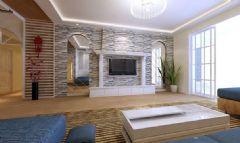 云曲山庄-四居室-180平米-装修设计混搭风格四居室