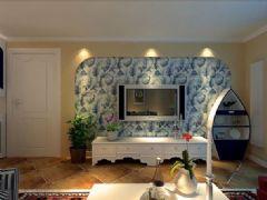 山明景庄-三居室-130平米-装修设计地中海风格三居室
