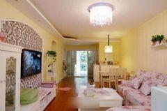 路劲御景城-二居室-83平米-装修设计混搭风格三居室