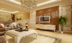 中国铁建·国际城-四居室-208平米-装修设计现代风格四居室