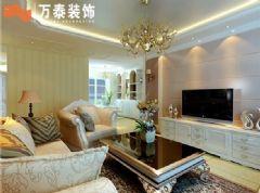南益名泉春晓-三居室-142平米-装修设计简约风格三居室