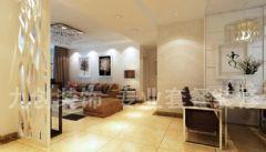 中海国际社区-三居室-130平米-装修设计简约风格三居室