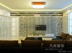 西沙小区-二居室-100平米-装修设计现代风格二居室