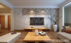 绿地新里卢浮公馆-二居室-102平米-装修设计简约风格二居室