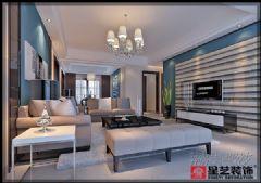南海幸福城雅居现代风格三居室