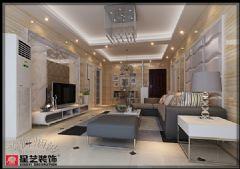 国瑞城雅居现代风格三居室