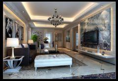 世纪豪门现代风格四居室