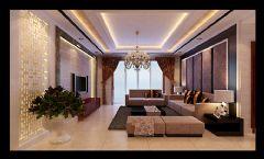 龙翔小区现代效果现代风格三居室