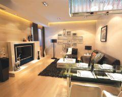 阳光小区古典风格三居室