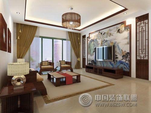 安庆石化小区-客厅装修图片