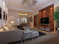 鑫园小区现代风格三居室
