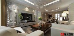 新世纪花园现代风格三居室