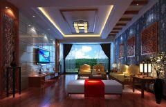 南庄星座现代风格三居室