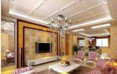 桑植欧式风格欧式风格三居室