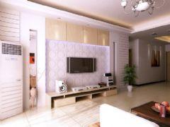 四方城小区现代风格三居室