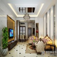 绿地世纪城现代风格三居室