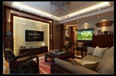锦绣龙城中式风格三居室