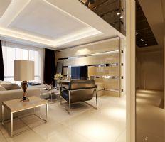 中铁国际城现代风格四居室